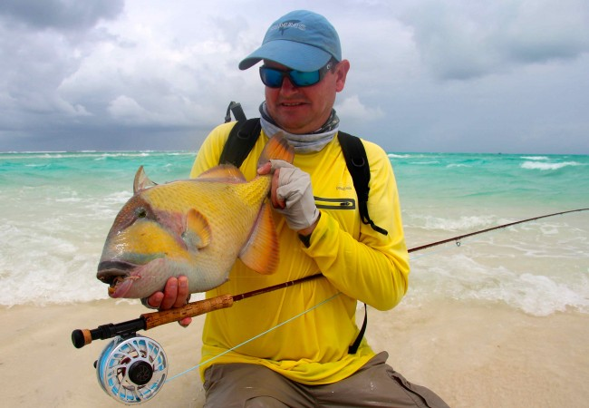 Fly fishing in the Maldives – Atmosphere Kanifushi