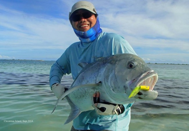 Christmas Island fly fishing – Client report