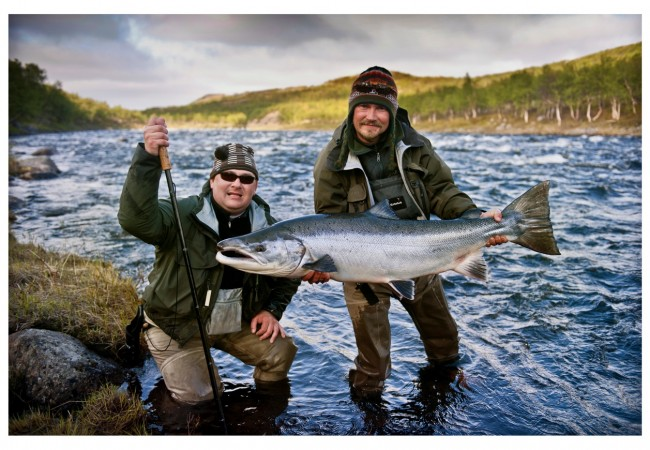 Fly Fishing in Russia – Varzina River Atlantic Salmon and Brown Trout 2015 Availability