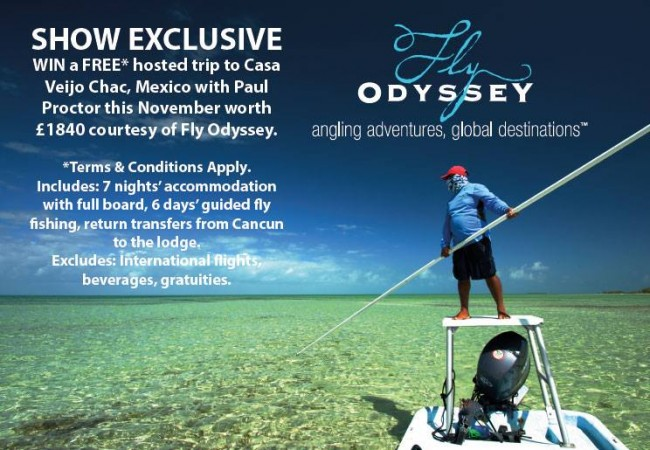 FLY ODYSSEY ATTENDING SPORTFISH SHOW – 9th-10th MAY, 2015