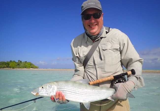 Fly Fishing The Brando, Tetiaroa – Client report