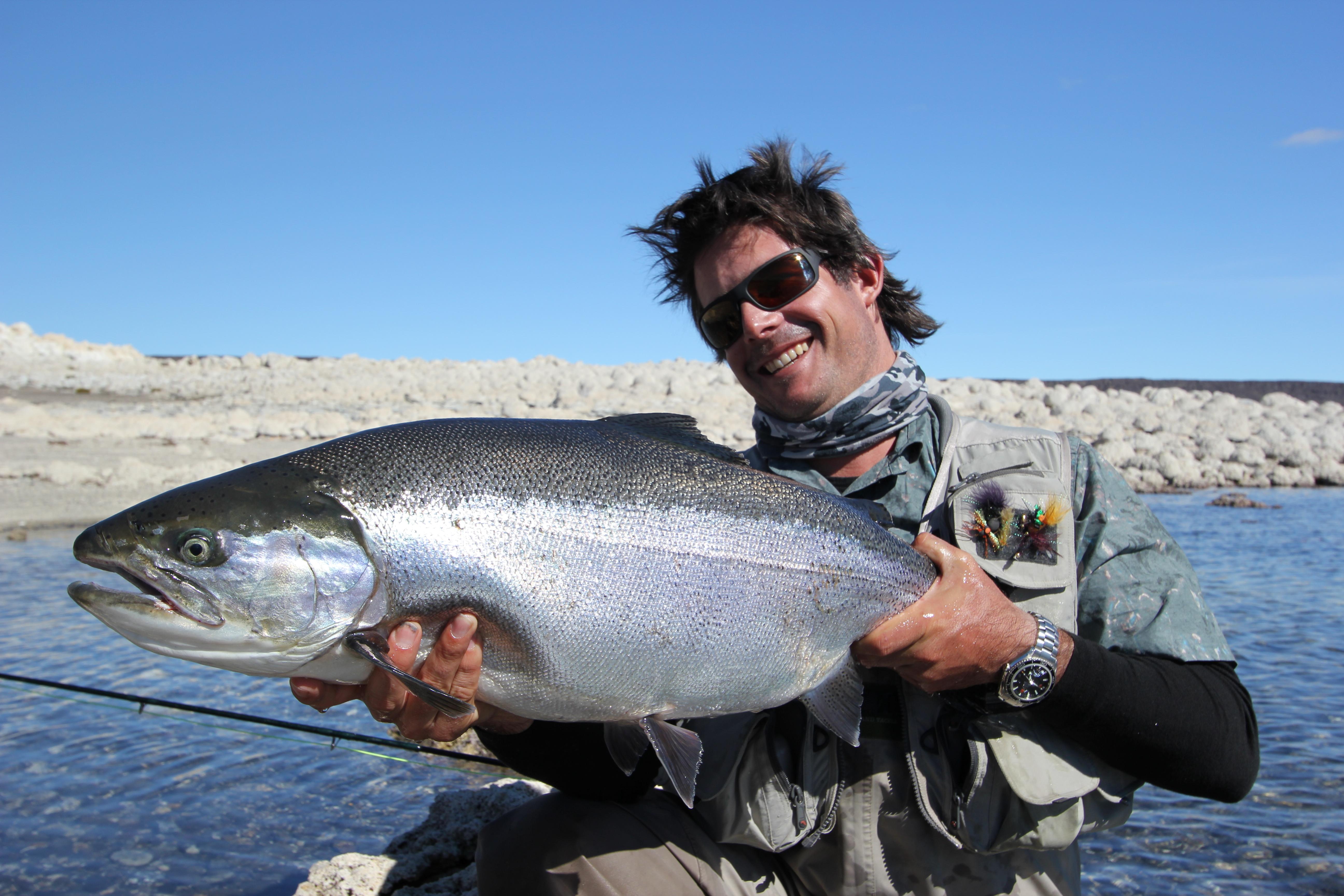 Fly fishing argentina jurassic lake hosted dates fly for Fly fishing argentina