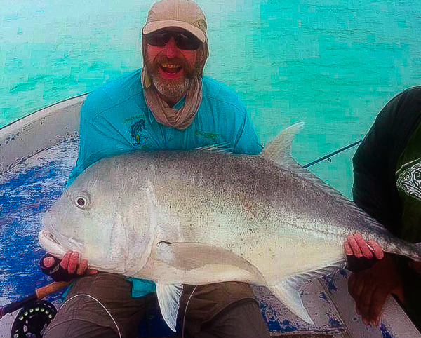Fly fishing aitutaki cook islands client report fly for Poor richard s fishing report