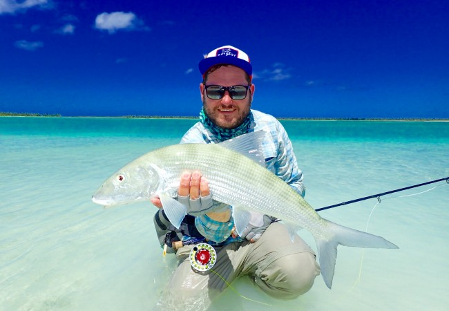 Fly Fishing Christmas Island, Client Report