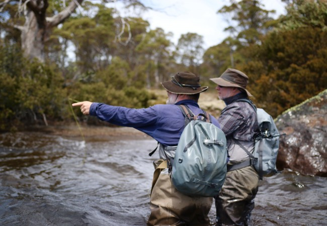 Fly Fishing Tasmania – Wilderness Huts trip report