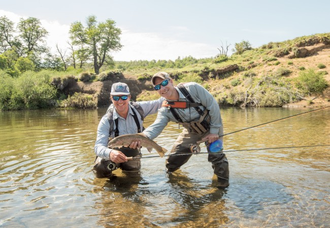 Trout fishing in Argentina – The Caballadas experience
