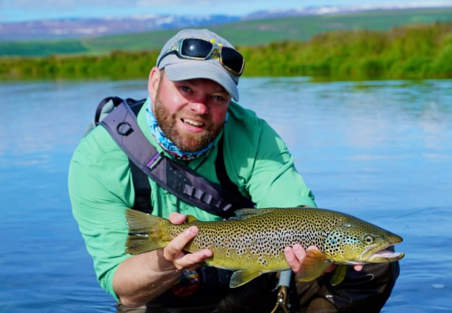 Brown trout fishing in Iceland – Trip report