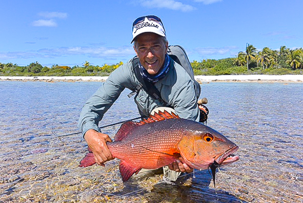 Fly Fishing Anaa Atoll, French Polynesia – client report