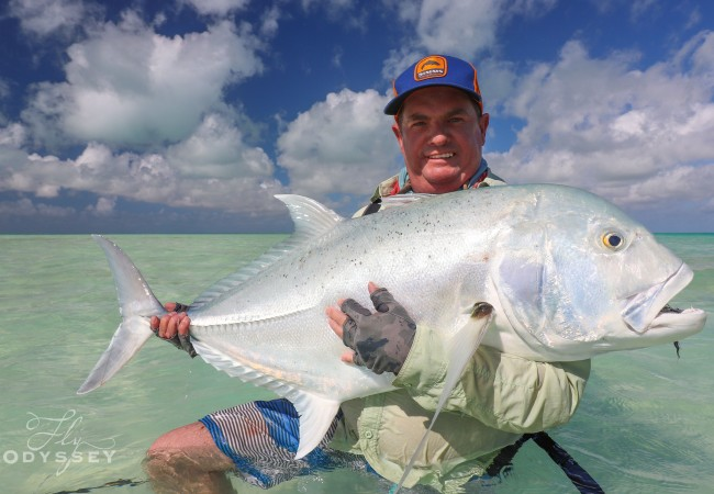Fly Fishing Christmas Island – Client Report