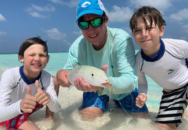 Family Holidays with some fly fishing – Hideaway Resort and Spa, Maldives