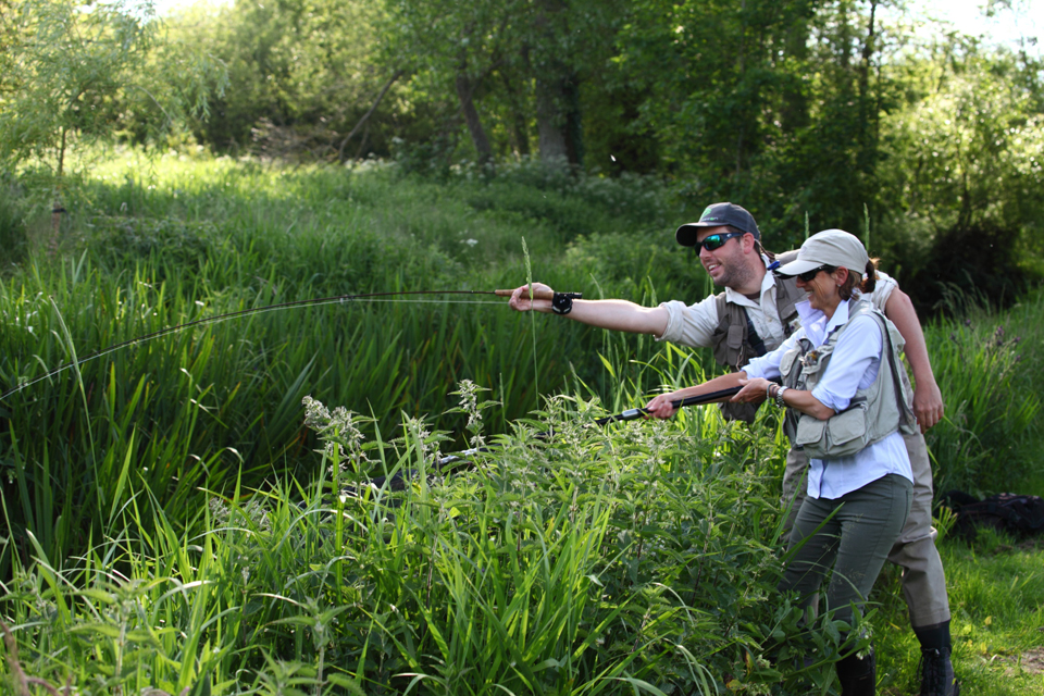 Fly fishing casting lessons tuitions days and fishing guides for Fly fishing classes
