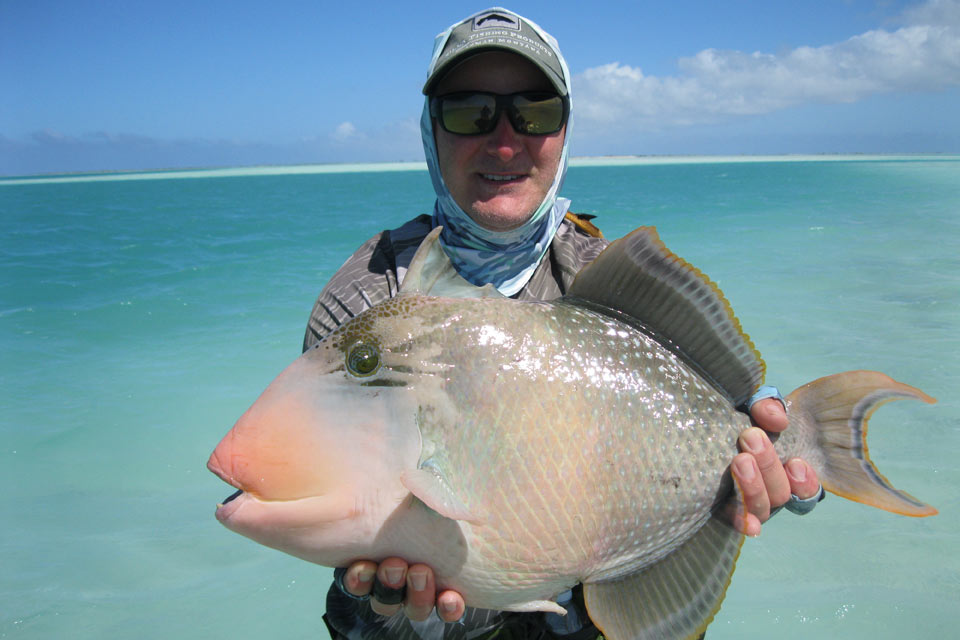 Pacific Ocean, Christmas Island - The Villages, Saltwater fly fishing with Fly Odyssey