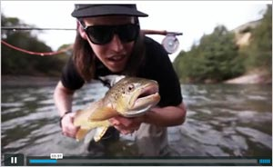 Watch video of Fly Fishing in Chile, 2013