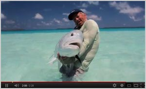 Watch video of Fly Fishing in Tahiti, 2012