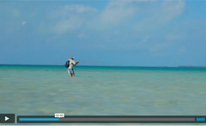 Watch video of Fly Fishing on Christmas Island